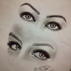 Eye drawing   by me ^^