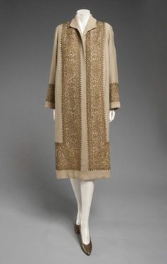 Jeanne Lanvin coat 1924 the philadelphia museum of art.