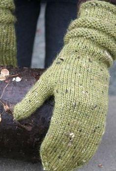 New England Mittens - Knitting Patterns by Amanda Lilley