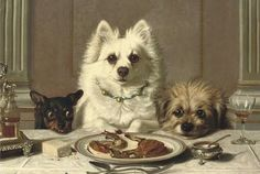 Horatio Henry Couldery (1832–1893)  Looks like my black dog jr. With the same facial expression lol