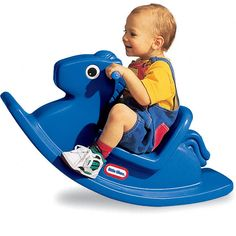 Rocking Horse - Primary Blue at Little Tikes