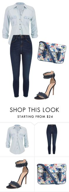 """""""Untitled #2511"""" by ania18018970 ❤ liked on Polyvore featuring maurices, River Island, Gianvito Rossi and Pieces"""