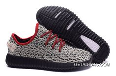 e35293882c39d Mens Adidas Yeezy Boost 350 Shoes Light Apricot Black Red TopDeals