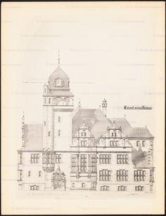 Titel   Rathaus. (Aus: Drucke von Seminararbeiten der Königlich Technischen…
