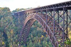 New River Gorge Bridge National River Fayetteville, WV