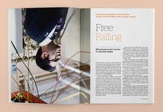 Momentum Magazine, Issue 2 on Editorial Design Served
