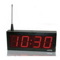 """4.0"""" Wireless Digital Clock 24V"""