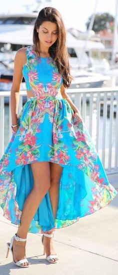 Sun On My Skin .... that is a beautiful dress! (vivaluxury)