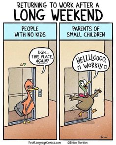 Kids and work