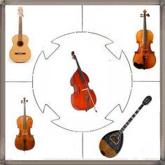 Μουσικά όργανα : Εκτυπώσιμα παιχνίδια