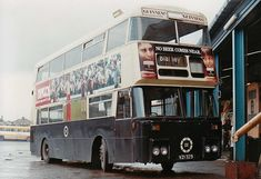 Many argue that these colours were superior to the tan. Cork actually re-painted one bus from tan back into blue & cream First Bus, Ireland Travel, Buses, Transportation, Irish, Old Things, Garage, Trucks, Carport Garage