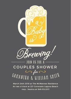 21 coed baby shower invitation wording examples shower invitations baby brewing baby shower invitations filmwisefo