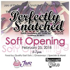 Today 3-7pm Come Support My Sister @jarsofperfection and @snatchedbyhalo For The Soft Opening Of Their Buisness Suite. ReclusiveCo. Will Be In The Building...Dont Miss This Food Raffles etc. Come Support and Have A Good Time  #RICHMOOK #DETROIT #BET #MTV #HUSTLE #GRIND #WORK #HIPHOP #RAP  #losangeles #Miami #Atlanta #houston #newyork #Oakland #vegas #Phoenix  #Philly #turnup #Reclusive #xxl