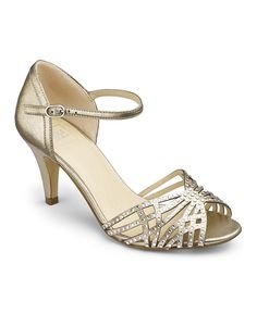 Size 6 gold | with a 2 inch heel I would prob be able to wear