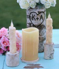 DIY wedding unity candles DIY Unity Candle