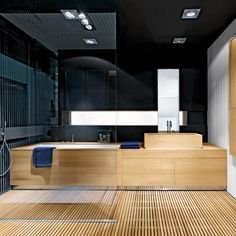 Vasca lavabo doccia frontale 02 by Makro. The combination and integration of a shower fitted parallel to a bathtub-washbasin System allows numerous planning arrangements
