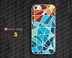 iphone 5 cases NEW iphone 5 case iphone 5 cover colorized patches of colour graphic design printing. $14.99, via Etsy.