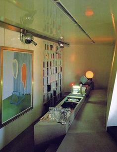 Gae Aulenti – The Peanut Vendor Ltd Danish Interior, Mid-century Interior, Contemporary Interior, Modern Interior Design, Interior Architecture, Mid Century Interior Design, Co Working, Vintage Interiors, Other Rooms