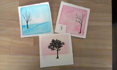 Hand Painted Cards. Uploaded by the Artist