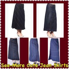 e9ddc45faf Jean Skirts, Skirt Fashion, Denim Skirt, Denim Skirts, Jean Skirt, Fashion  Skirts
