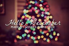Hello December, make my wishes come true month december december quotes hello december happy december welcome december
