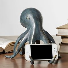 Found it at Wayfair - SPI Home Octopus Cell Phone Holder with Bluetooth Speakerhttp://www.wayfair.com/SPI-Home-Octopus-Cell-Phone-Holder-with-Bluetooth-Speaker-34009-PPK2549.html?refid=SBP