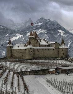 Chateau D'Aigle, Vaud, Switzerland
