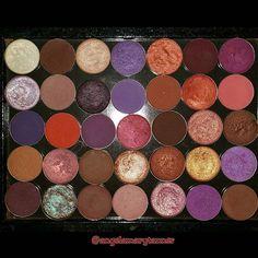 Mac eyeshadow palette... shadow names on @angelamarytanner