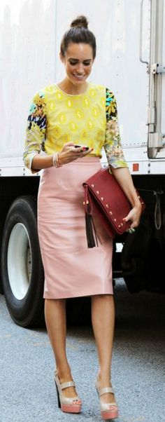 I LOVE Louise Roe, my style twin for sure!