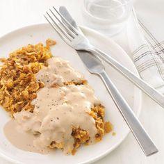 Chicken-Fried Steak With Cream Gravy Recipe - Key Ingredient