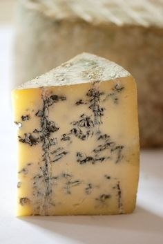 Berkshire Blue, a cheese made in Great Barrington, MA by Ira Gramble, has a smooth, polished flavor that begs for a cigar, a glass of port and a comfy armchair. Inspired by the British Stilton cheese, but moister and creamier, it is made with raw milk, aged over 60 days, and has developed slight barnyardy flavors of hay and hide that give it a pleasurable kick.