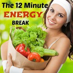 The 12 Minute Energy Break  «Via Arabah Joy