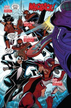 Preview: Spider-Verse Team-Up #3,   Spider-Verse Team-Up #3 Story: Christos Gage & Tom DeFalco Art: Dave Williams, Dexter Vines, Ron Frenz & Sal Buscema Cover: Jamal Campb...,  #All-Comic #All-ComicPreviews #ChristosGage #Comics #DAVEWILLIAMS #DexterVines #JAMALCAMPBELL #Marvel #Previews #RONFRENZ #SalBuscema #SPIDER-VERSETEAM-UP #TomDeFalco