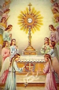 Catholic Prayers, Catholic Art, Roman Catholic, Pictures Of Jesus Christ, Religious Pictures, Corpus Christi, Holy Hour, Vintage Holy Cards, Jesus Faith
