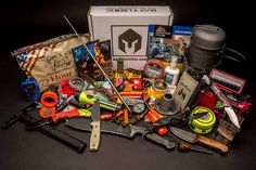 Your monthly subscription for receiving hand-picked tactical, survival, edc gear