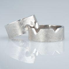 #trouwringen Cuff Bracelets, Jewelry, Fashion, Moda, Jewlery, Jewerly, Fashion Styles, Schmuck, Jewels