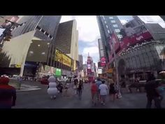 Times Square panorama on a GoPro Hero4 - YouTube