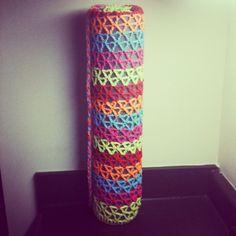 Crochet Yoga Mat Bag Large Yoga Mat Bag by TheTastefulHooker, $22.50