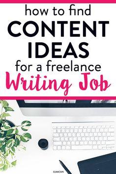 Online Writing Jobs, Freelance Writing Jobs, Easy Online Jobs, Online Work, Writing Tips, Writing Process, Write Online, Creative Jobs, Blog Topics