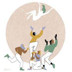Together we can <3 Moria #moriafire Sabine van Vessem (@sabinevanvessem) Print Design, Graphic Design, Together We Can, Freelance Illustrator, Fashion Prints, Tweety, Van, Illustration, Fictional Characters