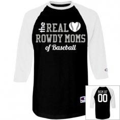 Custom Baseball Mom Shirts, Hoodies, Tank Tops, & More
