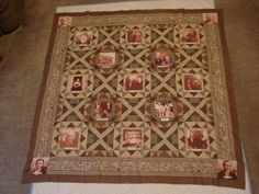 Family history quilt