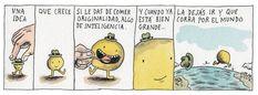Liniers. Ideas. Creatividad