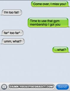 The Truth Comes Out - Funny Autocorrect Fails