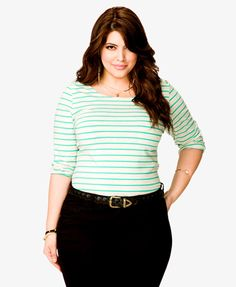 Striped Buttoned Top | FOREVER 21 - 2054804016
