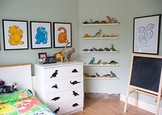 Photobucket - Video and Image Hosting Dinosaur Bedroom, Display Shelves, New Room, Room Organization, Mom And Baby, Contemporary Design, New Homes, House, Furniture