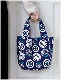 roundtote3 Japanese Sewing, Pouch, Wallet, Handmade Bags, Shopping Bag, Diaper Bag, Weaving, Reusable Tote Bags, Fabric