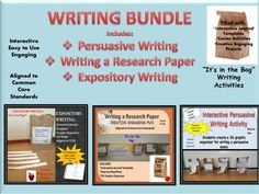 What differentiates an expository essay from a persuasive essay