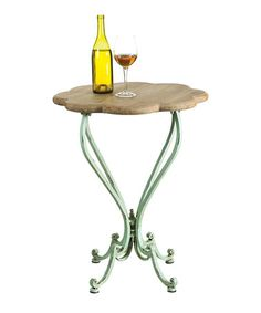Loving this Classic Flower Top Table on #zulily! #zulilyfinds ($130)