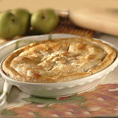 Easy Apple Pie | Meals.com Nothing beats the smell of apple pie baking in the oven, and this variation is as easy as pie! Serve with warm mugs of Carnation hot cocoa. #RedWhiteandBlue #EasyApplePie